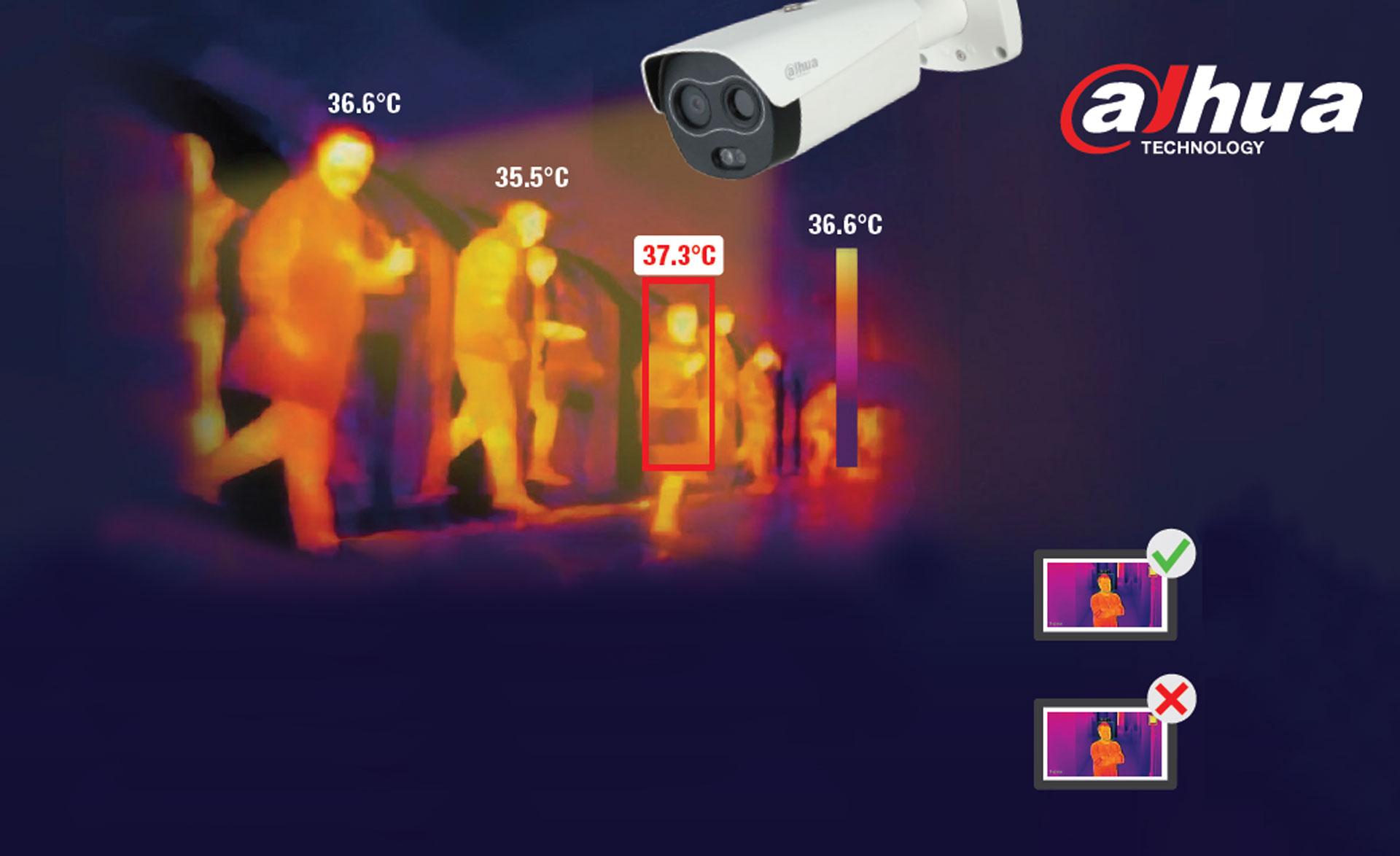 Thermoscan, Zutrittskontrolle, Einlasskontrolle